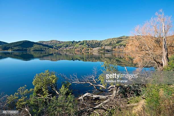 Lake Horowhenua, near Levin, Manawatu-Wanganui Region, North Island, New Zealand