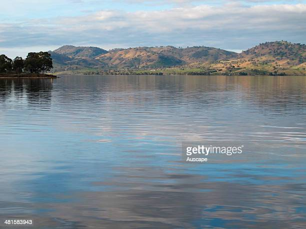 Lake Hume full in 2011 after more than a decade of drought AlburyWondonga New South Wales Australia