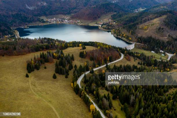 lake in slovakia - hungary stock pictures, royalty-free photos & images