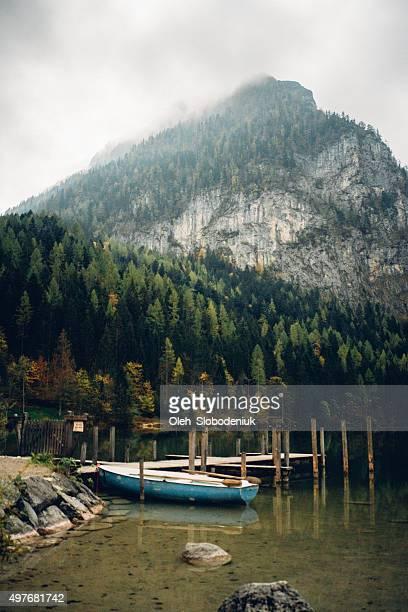 Lake in den österreichischen Alpen