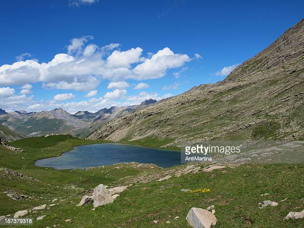 Lake in the French Alps