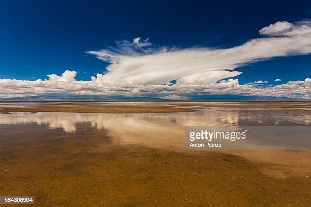 Lake in the Gobi desert