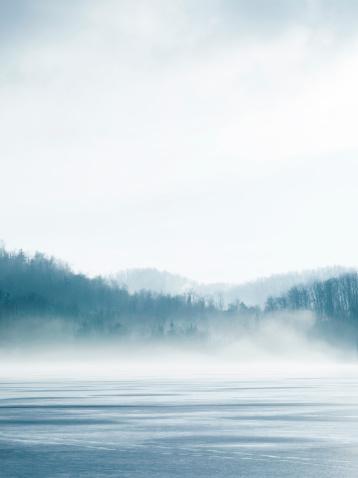 Lake In Winter 108223311