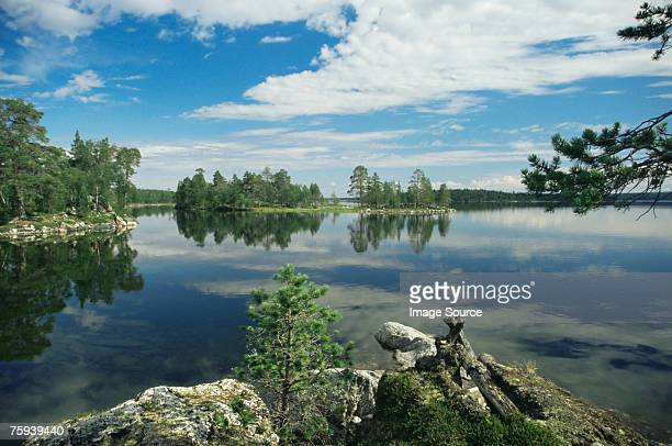 lake inari - finland stock pictures, royalty-free photos & images