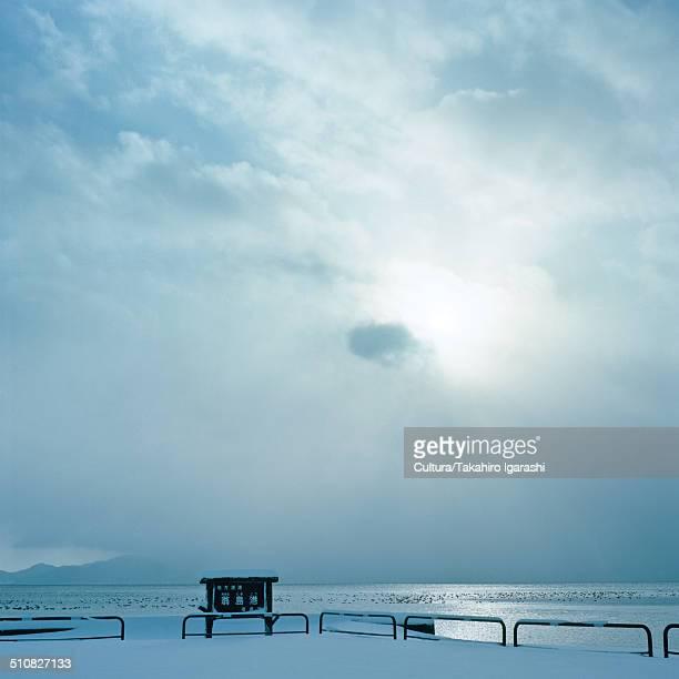 Lake Inawashiro, Fukushima, Japan