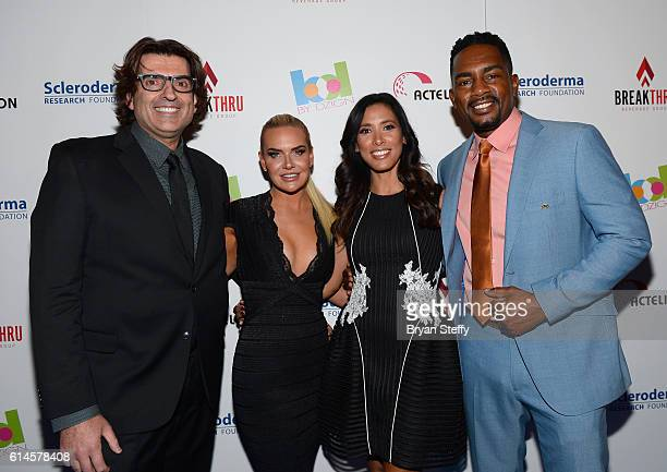 Lake Industries CEO and Scleroderma Board member Saville Kellner and his wife Katie Kellner and Kristen Baker Bellamy and her husband actor/comedian...