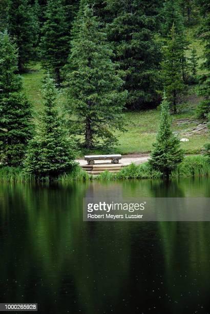 Lake Irene Dressed in Green