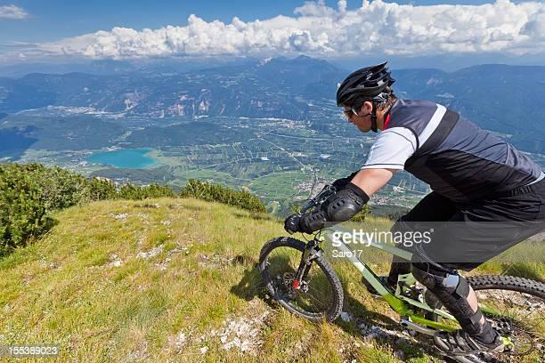 Lake Kalterer downhill, South Tyrol