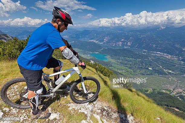 Lake Kaltern outlook, South Tyrol
