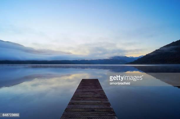 Lake Kaniere On New Zealand's South Island