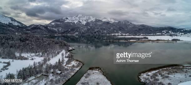 Lake Kochelsee, Bavaria, Germany, Europe