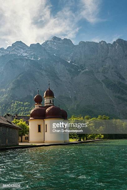Lake Koenigssee and St. Bartholomew