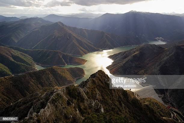 lake kozjak - skopje stock pictures, royalty-free photos & images