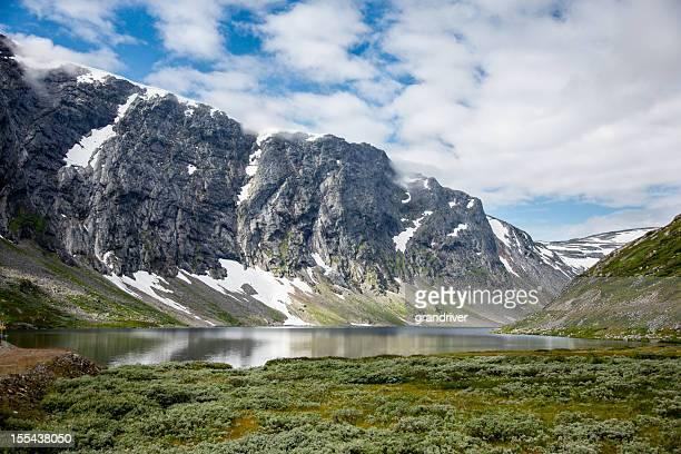 Lake Langvatnet near Geiranger Fjorde, Norway