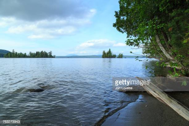 lake life - moosehead lake stock photos and pictures