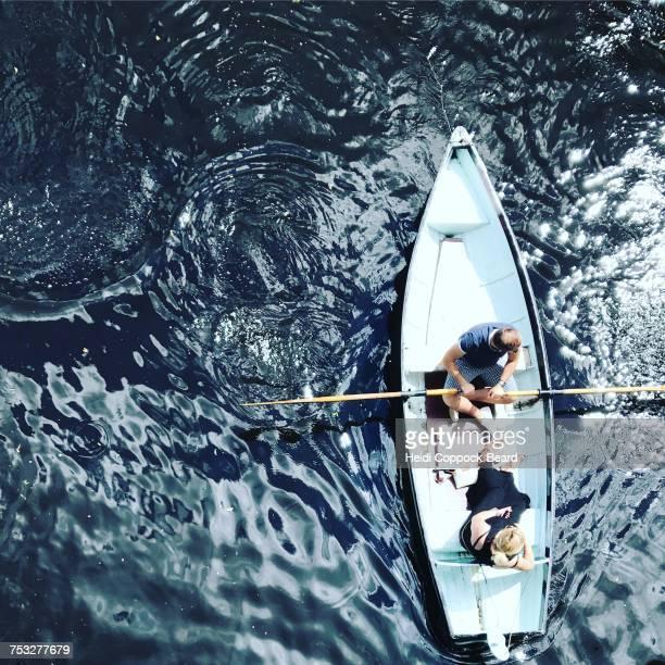 lake life - heidi coppock beard foto e immagini stock
