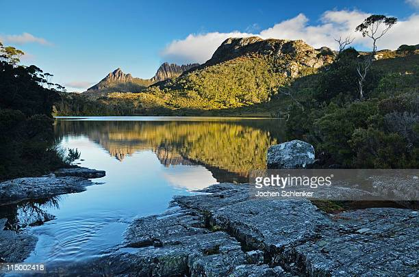 Lake Lila with Cradle Mountain in the background
