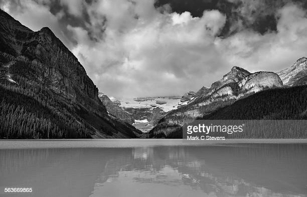 Lake Louise and a View to the Continental Divide