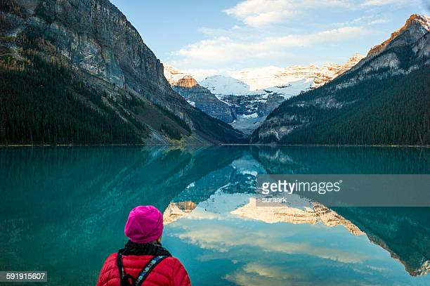 Lake Louise, Canadian Rockies, Alberta, Canada.