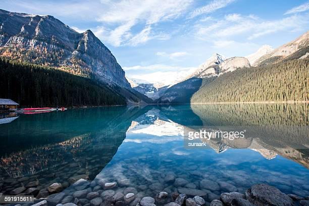 Lake Louise, Canadian Rockies, Alberta, Canada.