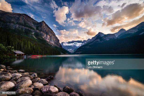 Lake Louise in Banff National Park, Alberta, Canada,