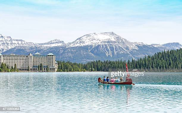 Lake Louise Touring Canoe
