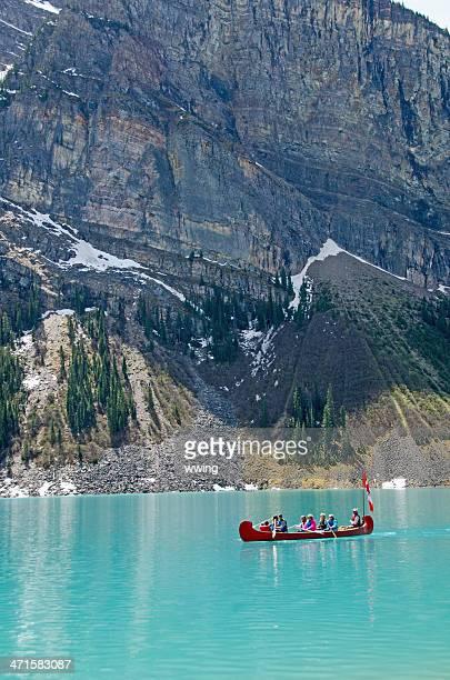 Lake Louise Touring Canoe
