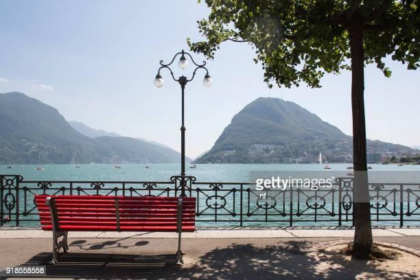 Lake Lugano view
