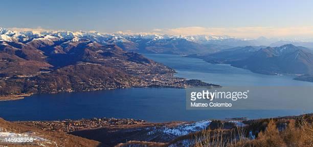Lake Maggiore in winter