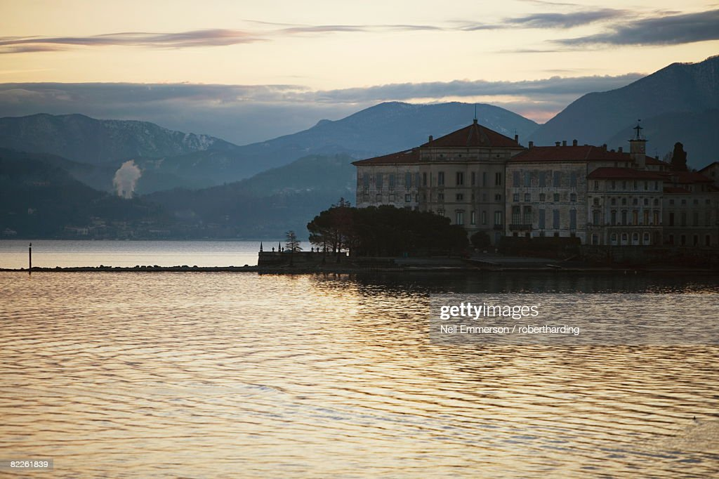 Lake Maggiore, Italian Lakes, Italy, Europe : Stock Photo