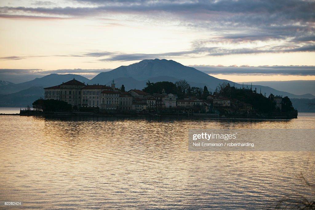 Lake Maggiore, Italian Lakes, Italy, Europe : Stock Photo