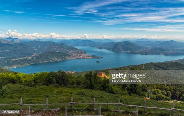 lake maggiore - stresa stock pictures, royalty-free photos & images