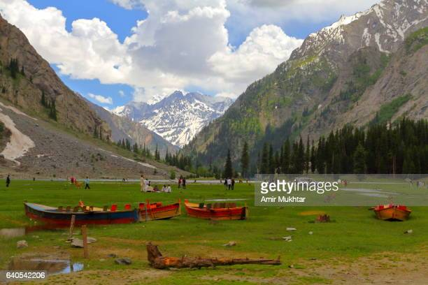 lake mahudand - swat valley stock pictures, royalty-free photos & images
