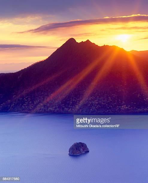 Lake Mashu at dawn