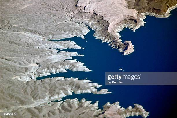 Lake Mead from above