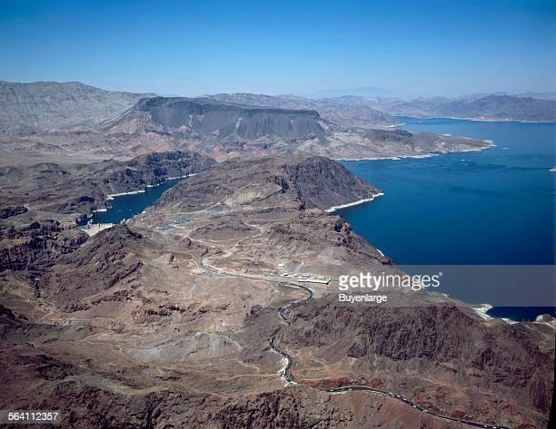 Lake Mead National Recreation Area formed when Boulder Dam was built Boulder City Nevada
