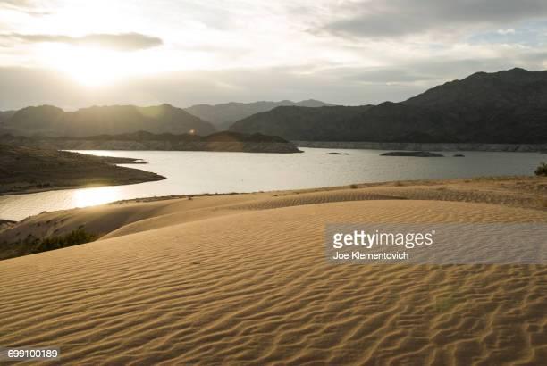 Lake Mead shoreline