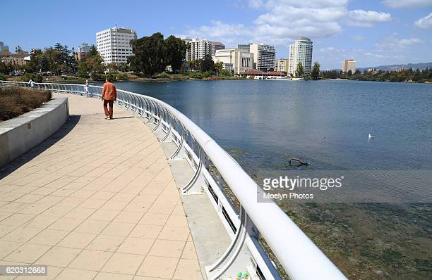 lake merritt oakland california - oakland california stock pictures, royalty-free photos & images