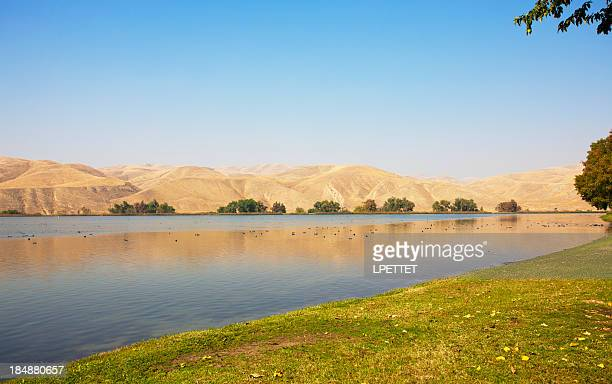 Lake Ming in Bakersfield on a warm sunny day