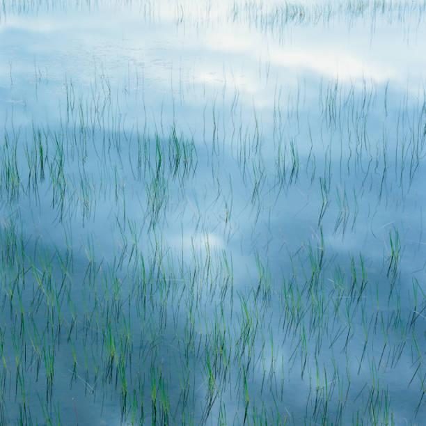 Lake Mirroring the Sky