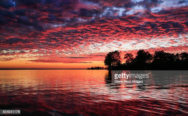 lake murray afterglow - template_talk:south_carolina stock pictures, royalty-free photos & images