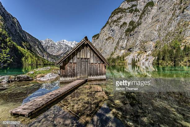 Lake Obersee, National Park Berchtesgaden - Bavaria - Germany