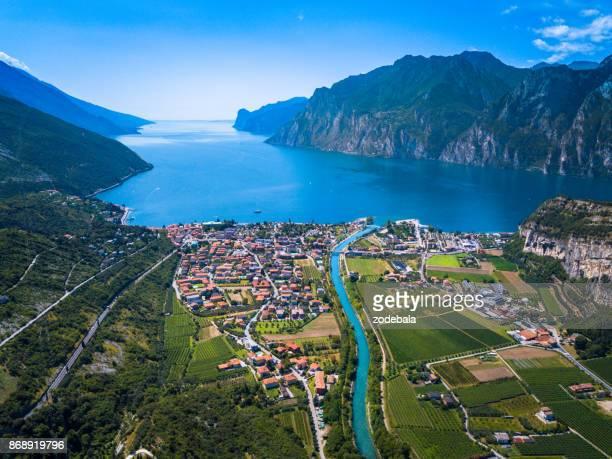 Lake Garda Panorama, Trentino, Italien