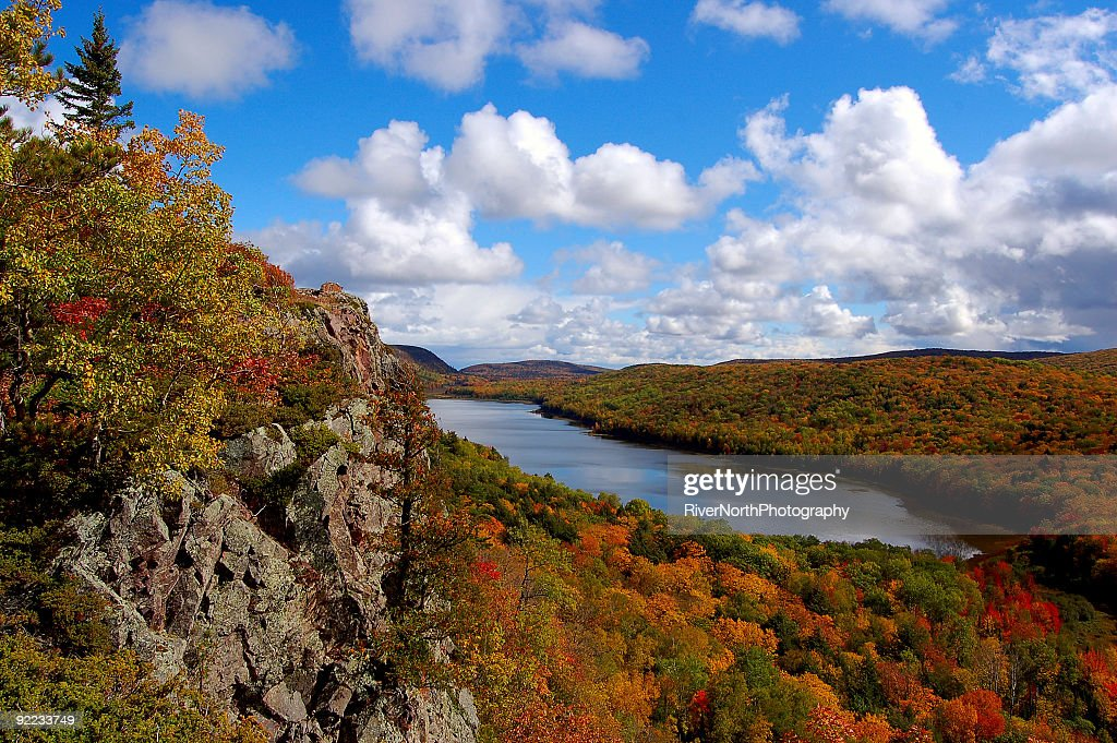 Lake of the Clouds, Upper Peninsula Michigan : Stock Photo