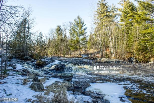 lake of the falls, mercer wisconsin - staadts,_wisconsin stock pictures, royalty-free photos & images