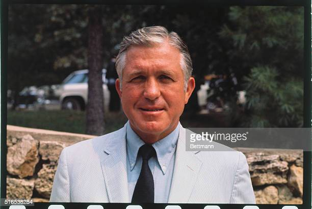 Lake of the Ozarks MO Governor Edgar D Whitcomb of Indiana is shown outdoors in head and shoulders shots at the National Governors' Conference