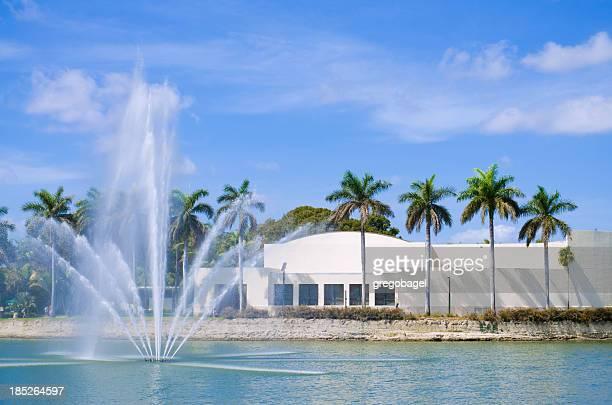 Lake Osceola at University of Miami in Coral Gables, FL