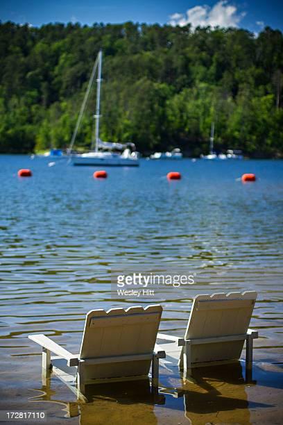 Lake Ouachita chairs for comfort