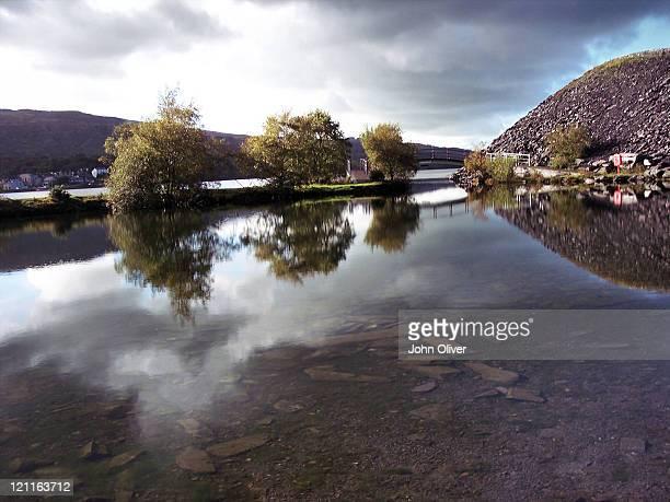 Lake Padarn at Gilfach Ddu