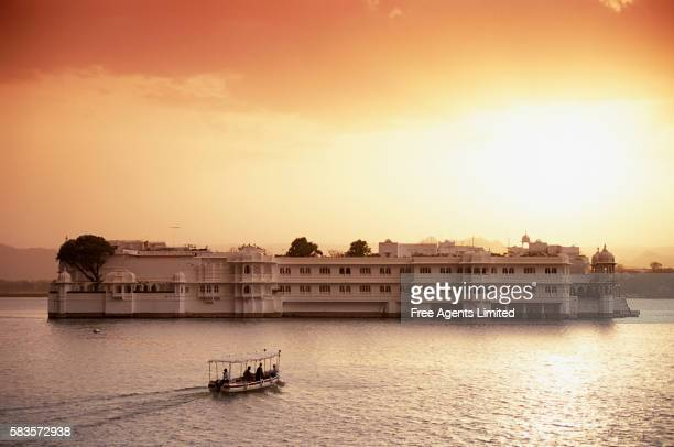Lake Palace Hotel on Lake Pichola